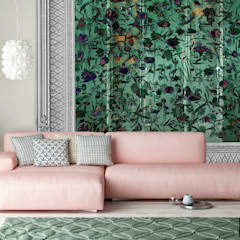 Oasis -Variation Framed- Wallpaper:  Muren door La Aurelia