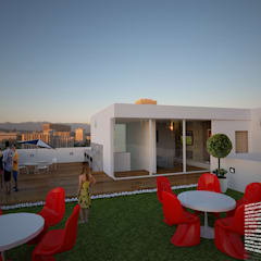 Patios by HHRG ARQUITECTOS