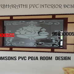 Pvc modular kitchen in coimbatore,pvc interior design in coimbatore-balabharathi Modern windows & doors by balabharathi pvc interior design Modern Plywood