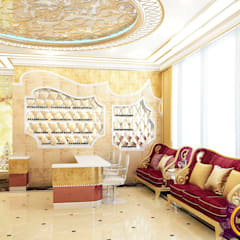 ​Beauty salon Design of Katrina Antonovich:  Spa by Luxury Antonovich Design