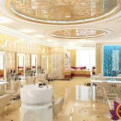Beauty salon Design of Katrina Antonovich:  Spa by Luxury Antonovich Design