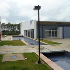 Auditório e anexo USP Lorena: Centros de congressos  por ALBA Construções Inteligentes