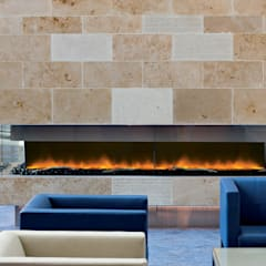 Commercial Fireplaces:  Airports by The Platonic Fireplace Company