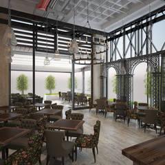 Tepeli İç Mimarlık – Sur Corridor - Cafe   Restaurant:  tarz Yeme & İçme