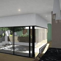 Casa Patio: Jardines de invierno de estilo  por ARBOL Arquitectos ,Moderno