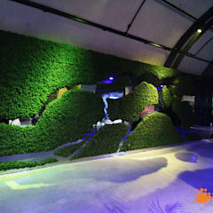 Evergreen Premium  Naturmoos - Sonderform:  Multimedia-Raum von Freund  GmbH