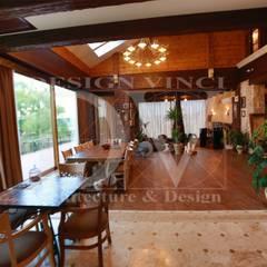 Villa Toscana in Moscow: Столовые комнаты в . Автор – Design Vinci
