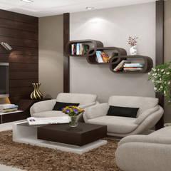 Impressive...: classic Living room by Premdas Krishna