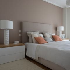 Apartamento em Telheiras - Lisboa: Quartos  por MUDA Home Design,