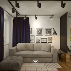 Living room: eclectic Living room by BLUETARPAN