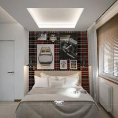 Apartament 52  :  Bedroom by BLUETARPAN ,Eclectic