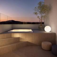 SPA | Cobertura: Terraços  por RAFE Arquitetura e Design
