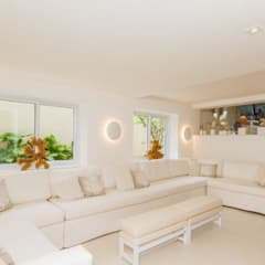 L24: Salas de estar  por Tammaro Arquitetura e Engenharia