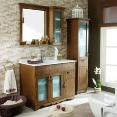 DAYAL Mimarlık – BANYO: kırsal tarz tarz Banyo