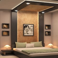 :  Bedroom by Monnaie Architects & Interiors