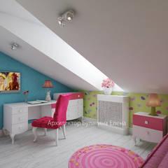 Recámaras infantiles de estilo mediterraneo por Архитектурное Бюро 'Капитель'