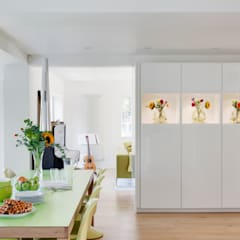 Private Residential Refurbishment, Kent:  Dining room by STUDIO 9010, Modern