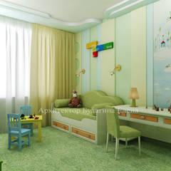 Nursery/kid's room by Архитектурное Бюро 'Капитель'