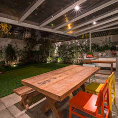 Patios & Decks by IDALIA DAUDT Arquitetura e Design de Interiores