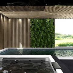 projekt basenu: styl , w kategorii Basen zaprojektowany przez ARTDESIGN architektura wnętrz