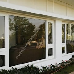 Elegant Windows & Doors :  uPVC windows by Green Home Solution,Asian
