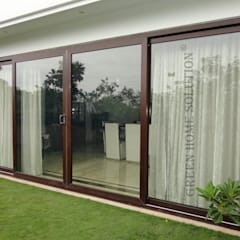 Elegant Windows & Doors :  Windows by Green Home Solution,Asian
