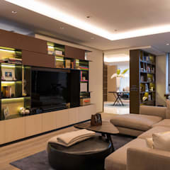 Media room by ARCO Arquitectura Contemporánea
