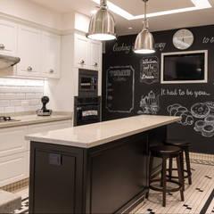 Departamento Citadel: Cocinas de estilo  por ARCO Arquitectura Contemporánea