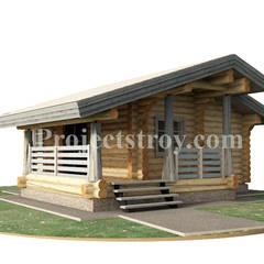 by Projectstroy Scandinavian Wood Wood effect