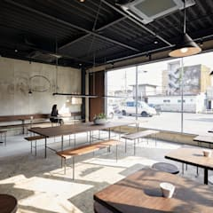by Innovation Studio Okayama Minimalist Concrete