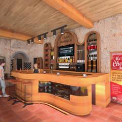 Propuesta 1: Oficinas y tiendas de estilo  por Cahtal Arquitectos