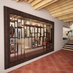 Propuesta muro cortina: Oficinas y tiendas de estilo  por Cahtal Arquitectos