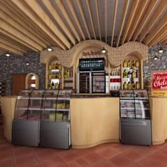 Propuesta Final: Oficinas y tiendas de estilo  por Cahtal Arquitectos