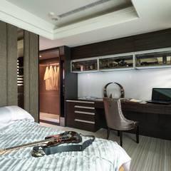 Bedroom by 青瓷設計工程有限公司,