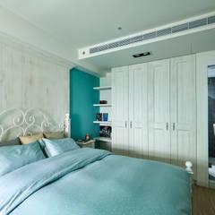 Dormitorios de estilo rural de 青瓷設計工程有限公司 Rural