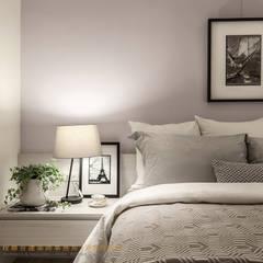 Bedroom by 垼程建築師事務所/浮見月設計工程有限公司