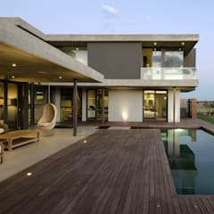 House Nel:  Pool by Anthrop Architects, Modern
