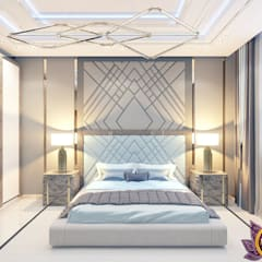 Contemporary style in interiors of Katrina Antonovich:  Bedroom by Luxury Antonovich Design