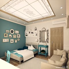 Chambre d'enfant de style de style Méditerranéen par Iv-Eugenie