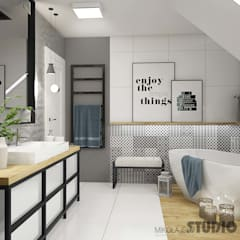 industrial Bathroom by MIKOLAJSKAstudio