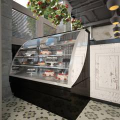 """Ресторан актуального дизайна """"PUSHKA & МУШКА"""": Ресторации в . Автор – Дизайн-бюро Анны Шаркуновой 'East-West'"""