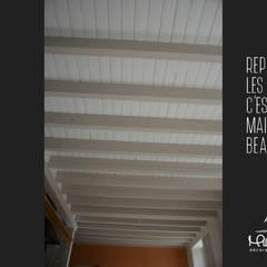 Rénovation séjour cuisine: Salon de style  par Mlle Emy