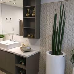 حمام تنفيذ KOSH Arquitetura & Interiores