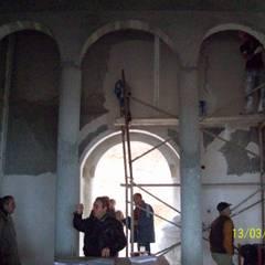 Meral TÜRKCAN  – Konut Projesi- Ana Bina: kırsal tarz tarz Oturma Odası