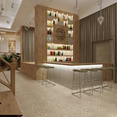 Ресторан - банкетный зал: Бары и клубы в . Автор – Orlova-design