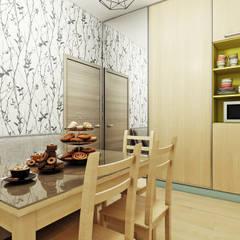 Офис ресторана.: Стены в . Автор – Orlova-design