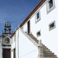 Casas de estilo  de BCA Arquitetura, Rústico Piedra