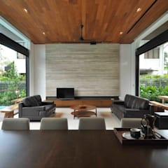 Living room by ming architects
