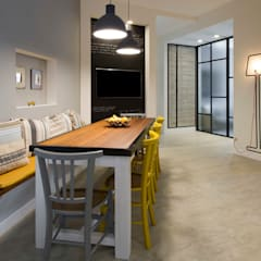 Dining room by Archifacturing, Industrial