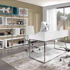 Ambiente Edge by Laskasas: Escritórios e Espaços de trabalho  por Laskasas